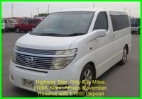 2003 NISSAN ELGRAND Highway Star 3.5 Automatic 8 Seats £6750.00