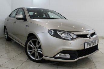 2011 MG 6 1.8 TSE MAGNETTE 4DR 160 BHP £4966.00