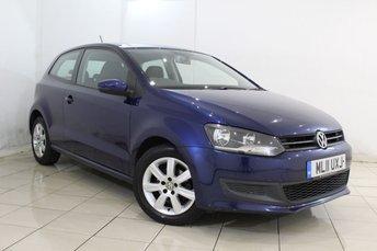 2011 VOLKSWAGEN POLO 1.4 SE DSG 3DR AUTO 85 BHP £6940.00
