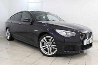 2014 BMW 5 SERIES GRAN TURISMO 3.0 530D M SPORT GRAN TURISMO 5DR AUTO 255 BHP £28970.00