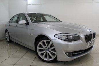 2010 BMW 5 SERIES 3.0 530D SE 4DR AUTO 242 BHP £12866.00