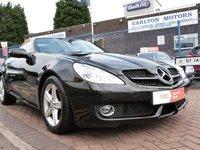 2008 MERCEDES-BENZ SLK 1.8 SLK200 KOMPRESSOR 2d AUTO 184 BHP £10995.00