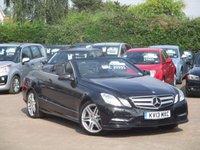 2013 MERCEDES-BENZ E CLASS 2.1 E250 CDI BLUEEFFICIENCY SPORT 2d AUTO 204 BHP £20995.00