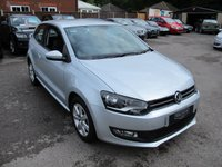 2010 VOLKSWAGEN POLO 1.4 SE DSG 3d AUTO 85 BHP 1 owner Super Low miles !! £6999.00
