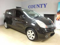 2008 NISSAN NOTE 1.4 ACENTA R 5d 88 BHP £2995.00