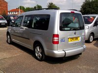 USED 2011 11 VOLKSWAGEN CADDY MAXI 1.6 C20 LIFE TDI 5d 5 SEATS + WHEELCHAIR ACCESSIBLE Nobody offers better Warranty & Breakdown Cover