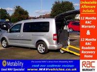 2011 VOLKSWAGEN CADDY MAXI 1.6 C20 LIFE TDI 5d AUTO 101 BHP 7 SEATS + WHEELCHAIR ACCESSIBLE £11995.00