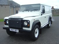 2007 LAND ROVER DEFENDER 2.4 TDi County Hard Top 3dr £9950.00