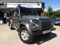 2011 LAND ROVER DEFENDER 2.4 110 TD XS STATION WAGON 1d 121 BHP £27000.00