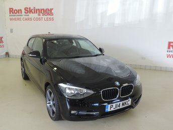 2014 BMW 1 SERIES 2.0 120D SPORT 3d 181 BHP £11999.00