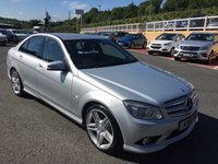 USED 2010 10 MERCEDES-BENZ C CLASS 2.1 C220 CDI BLUEEFFICIENCY SPORT 4d 170 BHP