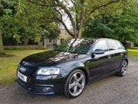 2011 AUDI A3 2.0 SPORTBACK TDI S LINE SPECIAL EDITION 5d 138 BHP £10999.00