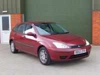 2004 FORD FOCUS 1.6 LX 5d 99 BHP £500.00