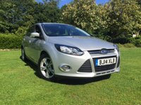 2014 FORD FOCUS 1.6 ZETEC 5d AUTO 124 BHP £8495.00