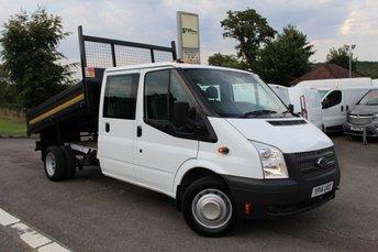2014 FORD TRANSIT 2.2 350 DRW 1d 99 BHP £14995.00