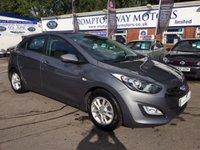 2012 HYUNDAI I30 1.4 ACTIVE 5d 98 BHP £7795.00