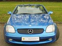 2002 MERCEDES-BENZ SLK 2.0 SLK200 KOMPRESSOR 2d 163 BHP £3750.00