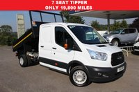 USED 2015 15 FORD TRANSIT 2.2 350 L3 DCB C/C DRW 1d 125 BHP WAS £16,995 NOW £15,995