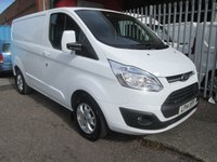 2014 FORD TRANSIT CUSTOM 270 LIMITED L1 SWB 125PS *AIR CON*LOW MILES* £13495.00