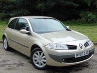 2007 RENAULT MEGANE 1.4 DYNAMIQUE 16V 3d 100 BHP £2000.00
