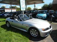 1998 BMW Z3 1.9 Z3 ROADSTER 2d 138 BHP £2495.00