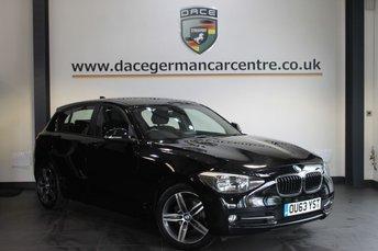 2013 BMW 1 SERIES 2.0 116D SPORT 5DR AUTO 114 BHP £13470.00
