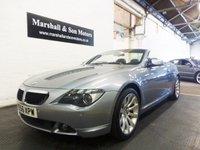 2006 BMW 6 SERIES 3.0 630I SPORT 2d AUTO 255 BHP £9899.00