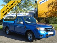USED 2011 61 FORD RANGER 2.5 TDCI XL 4X2 Single Cab Pickup+ T/Lift Ex lease Free UK Delivery