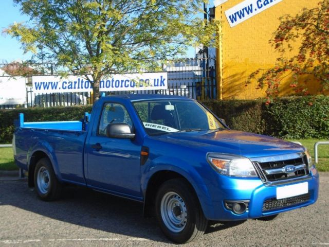 2011 61 FORD RANGER 2.5 TDCI XL 4X2 Single Cab Pickup+ T/Lift Ex lease Free UK Delivery