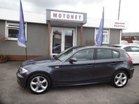 2008 BMW 1 SERIES 2.0 118D EDITION ES 5d 141 BHP £6888.00