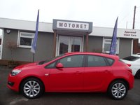 2012 VAUXHALL ASTRA 1.4 ACTIVE 5d 98 BHP £SOLD