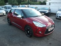 2013 CITROEN DS3 1.6 E-HDI DIESEL DSTYLE PLUS AIRDREAM 3 DR FREE ROAD TAX £7695.00