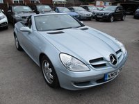 2006 MERCEDES-BENZ SLK 1.8 SLK200 KOMPRESSOR 2d 161 BHP Full Leather Low Miles  £6999.00