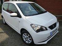 2014 SEAT MII 1.0 TOCA 5d 59 BHP Sat Nav & Bluetooth New Trim Spec £5268.00