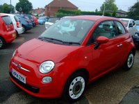 2014 FIAT 500 1.2 COLOUR THERAPY 3d 69 BHP £6499.00
