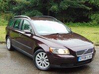 2006 VOLVO V50 2.0 D S 5d 135 BHP £3500.00