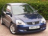 2004 HONDA CIVIC 1.7 SE I-CTDI 5d 100 BHP £1990.00