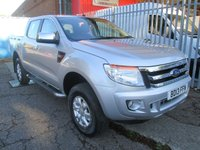 2013 FORD RANGER 2.2 TDCi XLT Double Cab 4x4 *AIR CON*ONLY 44k* £12995.00