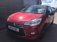 2013 CITROEN DS3 1.6 E-HDI AIRDREAM DSPORT 3d 111 BHP £8995.00
