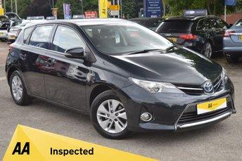 2013 TOYOTA AURIS 1.8 VVT-I ICON 5d AUTO 100 BHP £8821.00
