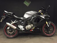 2009 HYOSUNG GT 125 R 2009. 9779. Very Good Condition. Serviced. Sports exhaust. £1400.00