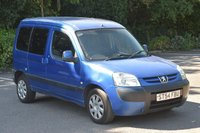 2004 PEUGEOT PARTNER 2.0 COMBI HDI 5d 89 BHP 5 SEATER COMBI DIESEL MANUAL CAR £1490.00