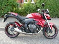 2010 HONDA CB600F HORNET FA £3995.00