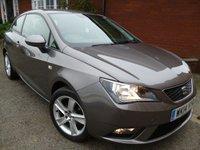 2014 SEAT IBIZA 1.4 TOCA 3d 85 BHP Sat Nav & Bluetooth Included £6228.00