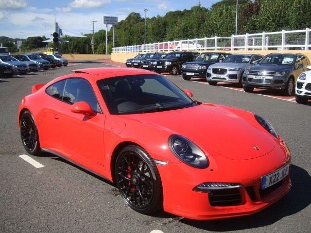 2015 15 PORSCHE 911 3.8 CARRERA GTS PDK 2d AUTO 430 BHP