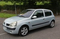 2002 RENAULT CLIO 1.1 DYNAMIQUE 16V 3d 75 BHP £290.00