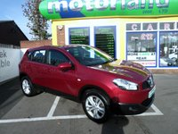 USED 2012 12 NISSAN QASHQAI 1.5 ACENTA DCI 5d 110 BHP PRIVACY GLASS..ALLOY WHEELS....DIESEL