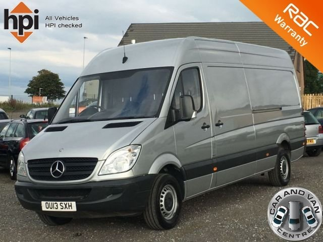 2013 13 MERCEDES-BENZ SPRINTER 2.1 313 CDI LWB BlueEFFICIENCY ECO