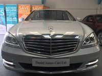 USED 2013 13 MERCEDES-BENZ S CLASS 3.0 S350 BLUETEC L 4d AUTO 258 BHP FULL MERCEDES SERVICING