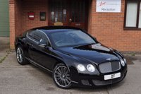 2008 BENTLEY CONTINENTAL 6.0 GT SPEED 2d AUTO 603 BHP £47950.00
